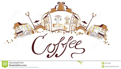 coffee town coffee town stock images image 20747654