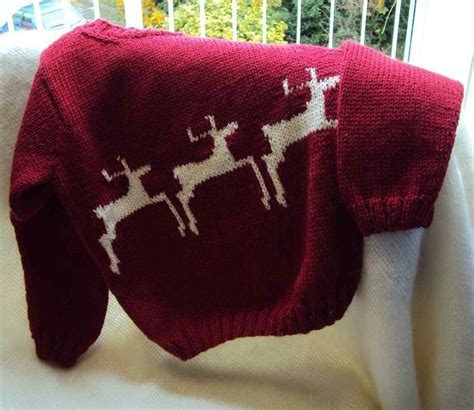 knitting pattern christmas jumper reindeer 17 best images about top gifts for knitters on pinterest