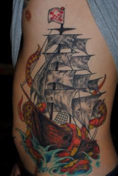 red parlour tattoo 60 octopus ship tattoos