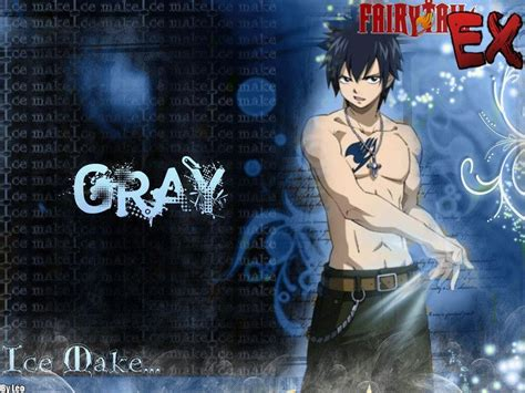 wallpaper grey fullbuster fairy tail gray wallpapers wallpaper cave