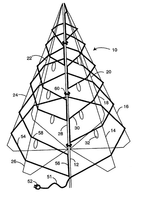 xmas tree structure free outline of a tree free clip free clip on clipart library