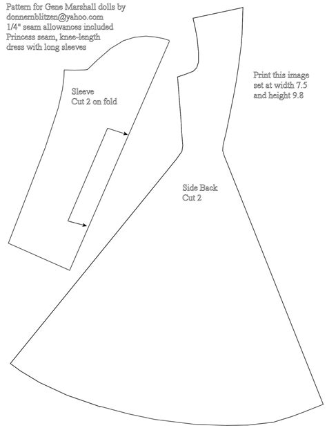 clothes pattern images 8 best images of barbie clothes printable patterns free