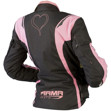pink motorcycle jacket armr moto jojo ladies motorcycle jacket jackets