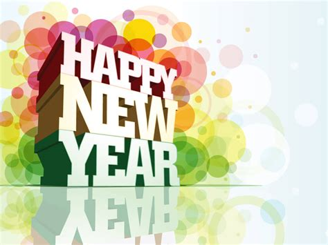 new year to happy new year wishes greetings 3d hd wallpaper