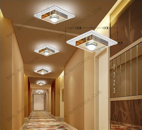 Hallway Ceiling Light Fixtures 3 Watt Led Ceiling Light Fixture Glass Ceiling L For Hallway Corridor Aisle Led