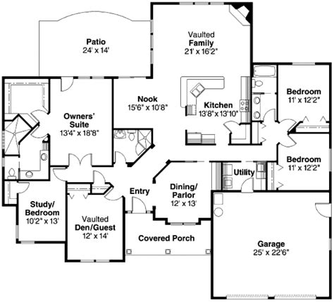 2610 square feet 3 bedrooms 2 189 batrooms on 2 levels craftsman style house plan 4 beds 3 00 baths 2610 sq ft