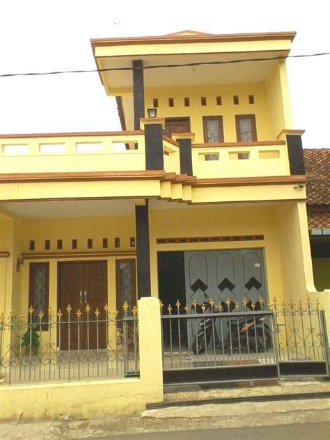 warna cat dinding luar rumah  cerah  dekor