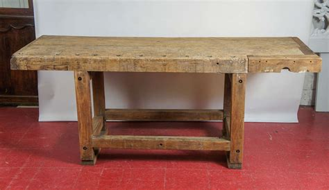 kitchen island work table industrial workbench kitchen island table at 1stdibs