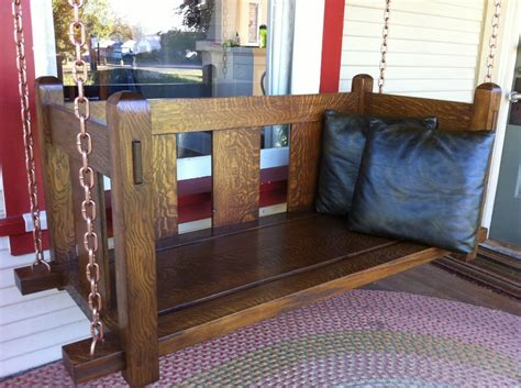 mission porch swing pdf diy mission style porch swing plans download nested
