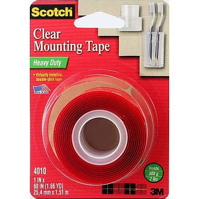3m scotch® heavy duty clear mounting tape – the stationery