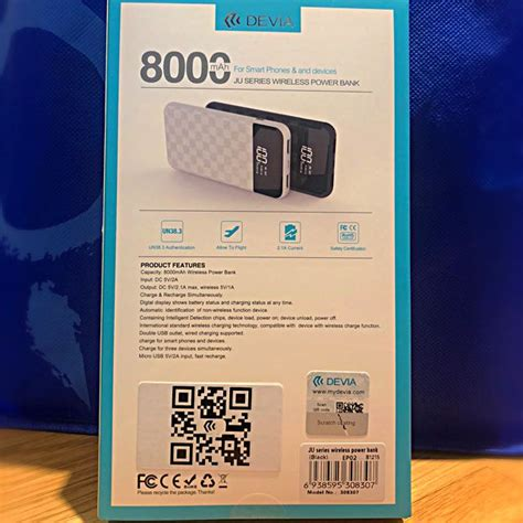 Devia Backpack 8000mah devia wireless charger electronics others on