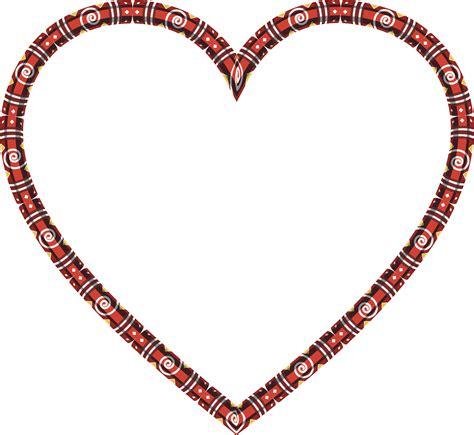Decorative Frames Clipart Decorative Heart Frame