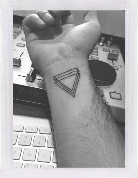 triangle pattern on arm 110 best images about triangle tattoos on pinterest