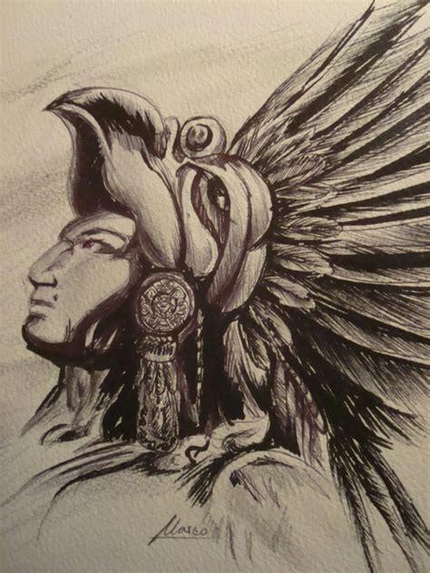 imagenes de aztecas a lapiz guerreros aztecas dibujos a lapiz imagui