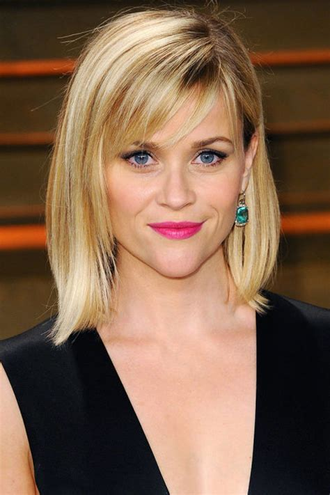 the lob with bangs 21 bob haircuts for fine hair styles weekly