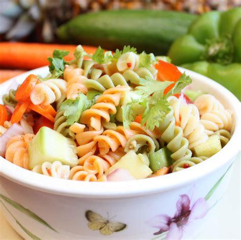 pasta salad with spaghetti noodles summer spaghetti salad