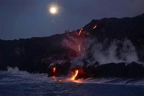 big island lava tour boat lava boat tours big island lava tours hawaii volcano tours