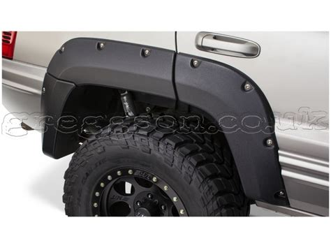 Jeep Wj Fender Flares Jeep Grand Wj Fenders Flares Bushwacker