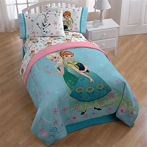 disney frozen bedding disney 174 quot frozen quot perfect day comforter www bedbathandbeyond ca