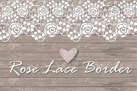 Wedding Lace Border Clip by Lace Border Rustic Wedding Invitation Border Frame Lace