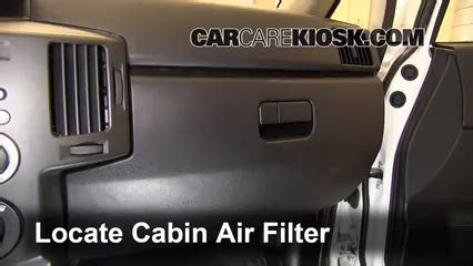 How To Check Cabin Air Filter by 2004 2011 Mitsubishi Endeavor Cabin Air Filter Check