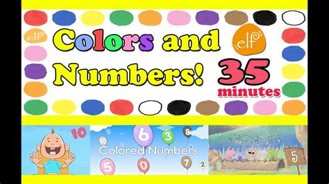 mocospace color code numbers and colors 12 abc alphabet songs colors shapes