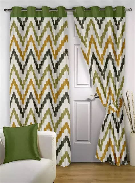 What Color Of Curtains Will Go With Orange And Green Walls