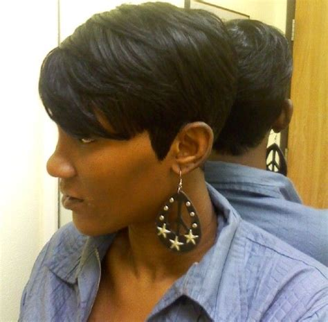 quick weave bob hairstyles pictures shondra s quick weave hairstyles short side view bobs