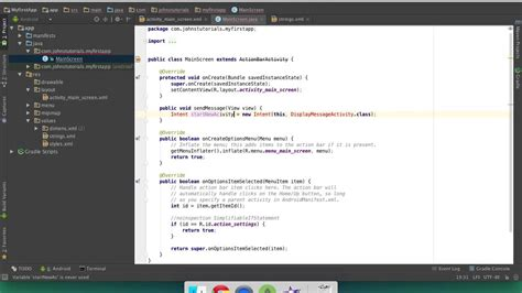 android studio button android studio how to start a new activity with a button