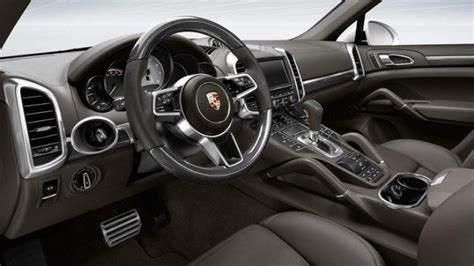 porsche cayenne interior 2017 2017 porsche cayenne redesign release and changes