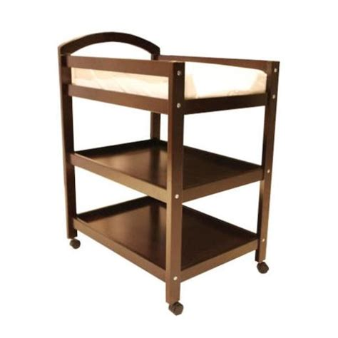 Wooden Change Table Wooden Baby Change Table Trolley W 2 Shelves Buy Changing Tables