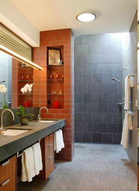 fabulous doorless shower designs   bathroom