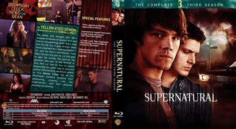 supernatural season 3 tv custom covers supernatural season 3 custom bluray
