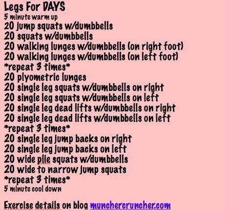 17 best ideas about killer leg workouts on leg