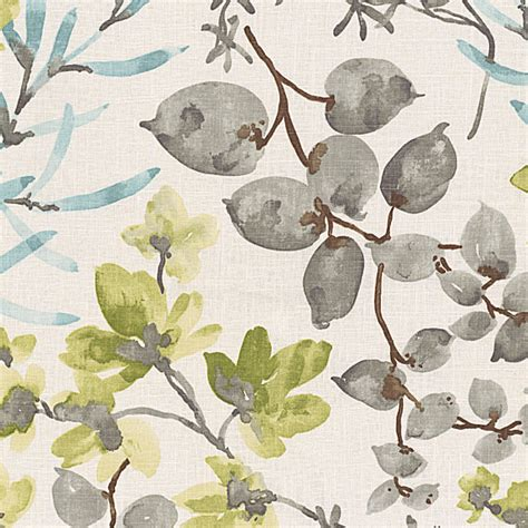 watercolor upholstery fabric aqua gray watercolor floral fabric contemporary