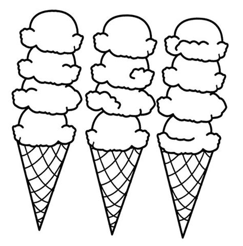 dltk ice cream coloring pages big ice cream cones coloring page coloring sheets