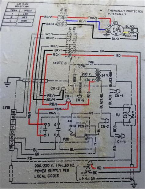 air handler diagram air free engine image for user