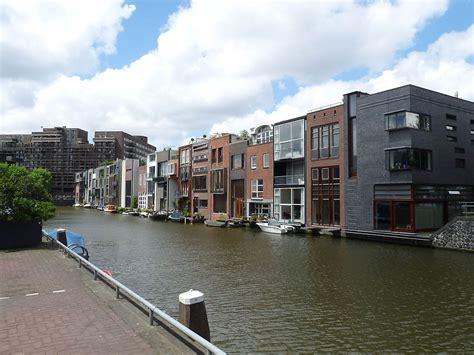 MVRDV, Amsterdam, house on Borneo Sporenburg