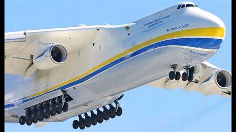 worlds largest cargo plane   mriya lands  india