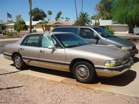 how to sell used cars 1992 buick coachbuilder interior lighting sell used 1992 buick park avenue ultra sedan 4 door 3 8l in phoenix arizona united states for