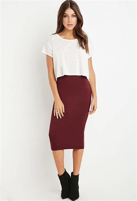 25 best ideas about midi pencil skirts on