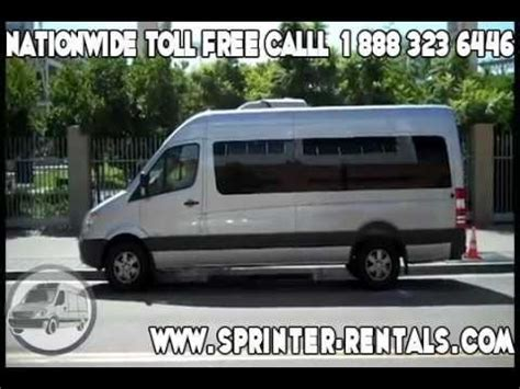 mercedes sprinter rentals sprinter rentals usa nationwide mercedes vans