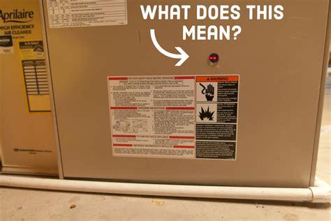 diagnose furnace problems  red light