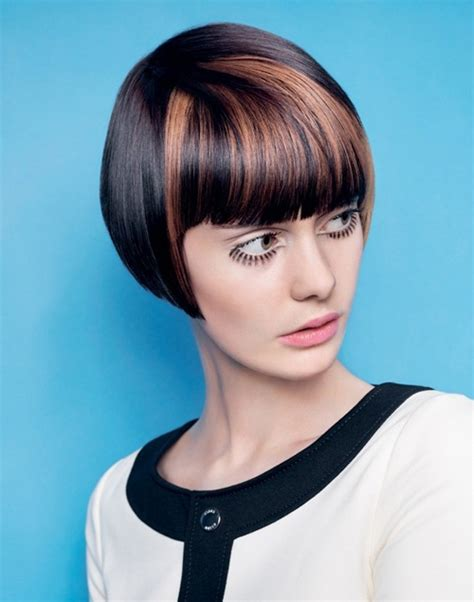 hairstyles colored bangs pictures of short hair color short hairstyles 2017
