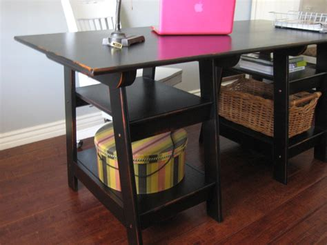 most popular furniture furniture home office design ideas with sawhorse desk