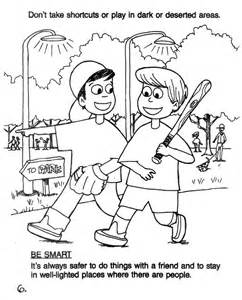 safety coloring pages 17 best images about safety on