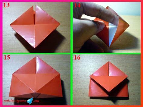 membuat origami membuat origami cara membuat origami kotak bersayap aneka bentuk origami