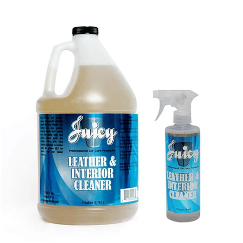 Interior Cleaner by Leather Interior Cleaner 1 Gal Car Care