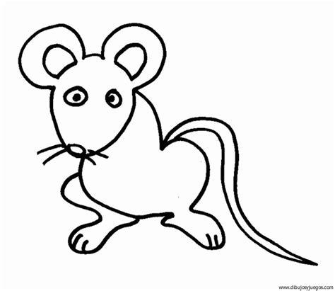 imagenes de leones y ratones dibujo de raton 049 dibujos y juegos para pintar y colorear