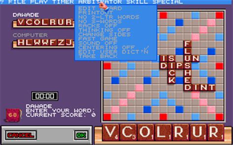 free scrabble without downloading scrabble the deluxe computer edition my